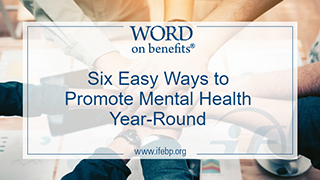 Six Easy Ways to Promote Mental Health Year-Round