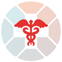medical staff with snake on it