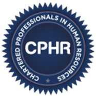 Chartered Professionals in Human Resources seal