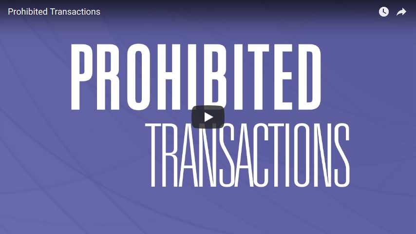 video of prohibited transactions