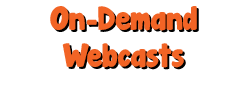 On-Demand Webcasts