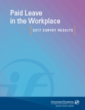 Paid Leave in the Workplace: 2017 Survey Results
