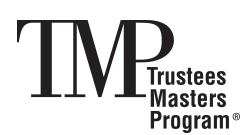Trustees Masters Program® (TMP®)