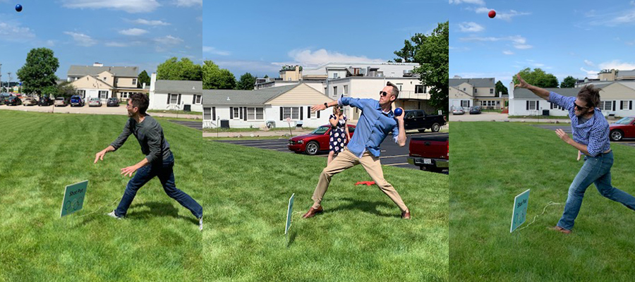 Action shots from our recent Olympic Rematch in the Summer Benefits episode.